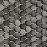 1 Inch Hexagon Gray Mix 1
