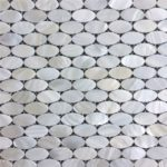 17x30mm White Oval