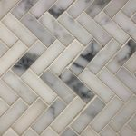 1X3 Herringbone Statuario Polished