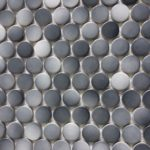 3/4'' / 1'' Penny Round Gray Cloud Mix