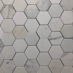 3 Inch Hexagon Calacatta Danby White