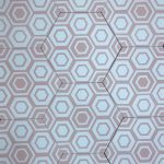 8 Inch Hexagon New Hex 10 Pink