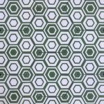 8 Inch Hexagon New Hex 12 Green