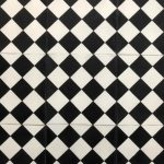 8X8 Checkered White Black