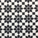 8X8 Moorish Black White