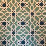 8X8 Tangier Dark Blue