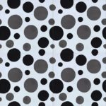 8X8 Bubbles Dark Gray