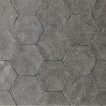 Alivar 6 Inch Hexagon Sika Stone