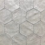 Alivar 6 Inch Hexagon Tuscola Grey