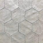 Alivar 6 Inch Hexagon Tuscola Grey