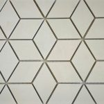 Crema Luna Diamond Cube 2X4 2X2 1X3 Herringbone 3 Inch Hexagon
