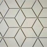 Crema Luna Diamond Cube 2X4 2X2 1X3 Herringbone 3 Inch Hexagon