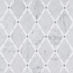 Diamonds Carrara Thassos Gray
