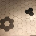 Hexagon 6X7 White Black Gray Matt