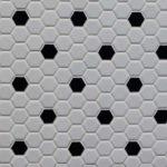 HP 1 Hexagon White Black Matte