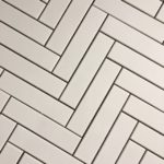 HP Herringbone 2X8 White Gloss Matt