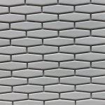 Long Hexagon White