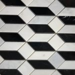 Madison Oriental White Nero Marquina Polished