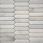 Picket 1X4 Oriental White Polished