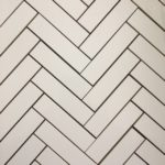 PURE WHITE HERRINGBONE