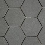 Steel Gray 3 Inch Hexagon 2X4 2X2 Diamond Cube 1X3 Herringbone
