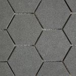 Steel Gray 3 Inch Hexagon 2X4 2X2 Diamond Cube 1X3 Herringbone
