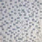 Tumbled Brick Thassos Bardiglio Carrara Bluette