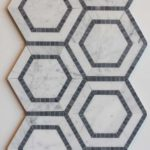 YA Combined Hexagon Carrara Grey