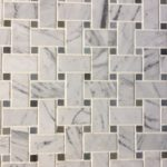 Basketweave Carrara Moostone