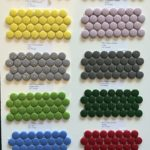 Enamel Glass Colours 1'' Penny Rounds