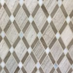 Lattice Wooden White