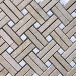 Slant Weave Crema / Thassos