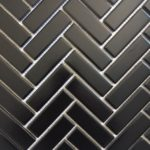 HP 1X3 Herringbone Black Gloss, Matt
