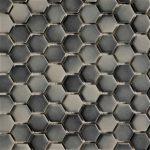 1 Inch Hexagon Gray Mix 1
