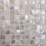 20x20mm Cream Square