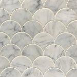 3 Inch Fan Carrara
