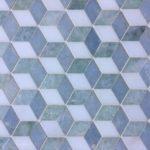3D Thassos Azul Celeste Ming Green
