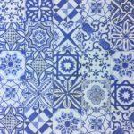 6X6 Lisbon Blue Decor Mix