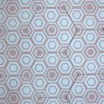 8 Inch Hexagon New Hex 10 Pink