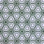 8 Inch Hexagon New Hex 12 Green