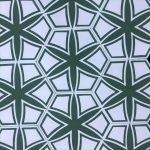 8 Inch Hexagon Selena Green