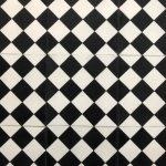 8X8 Checkered White Black