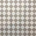 8X8 Checkered White Light Gray