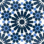 8X8 Casablanca Blue