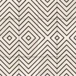 8X8 Maze White & Black
