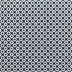 9X9 Inch Modena Star Black White