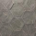 Capri Nero Hexagon 5.5x6