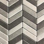 Chevron Gray Combination Mix
