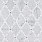 Diamonds Carrara Thassos Gray