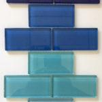 Glass Tile Mosaic 2X4, 4X12